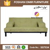 Omir furniture guangzhou chrome sofa feet hotel lobby sofa SS7034