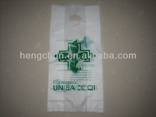 Brand new die cut handle plastic shopping bag(2012) with great price