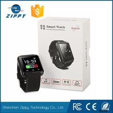 factory Hot selling promotion hebrew language u8 smart watch