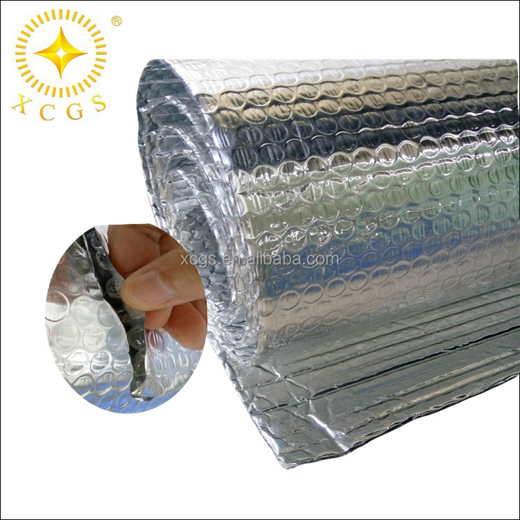 China house wrap thermal cold insulation bubble foil aluminium foil roof insulation