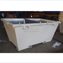 waste management Lowest price factory supplier outdoor skip lifting bin