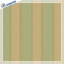 Howoo pvc coated paper plastic wall covering wallpaper for office walls