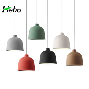 New Products Indoor Lights Zhongshan Modern Home Lighting Red Pendant Lights For Home