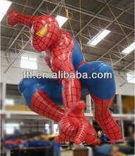 vivid inflatable spiderman for advertising