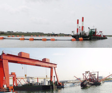 China River sand suction low price sand dredger machine for sale