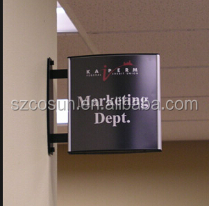 Aluminum Frame Advertising Taxi Roof Lightbox sign Wholesale