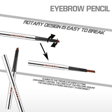 Hot sale wateproof and permanent Single Ended Automatic Gel Eyebrow Pencil