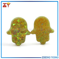 11*13mm synthetic opal hamsa for sale/ethiopian opal price
