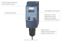 BIOBASE Chemical & Pharmaceutical Mixing Equipment LED Overhead Stirrer