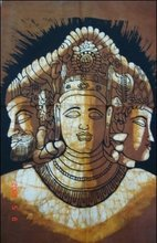 25 India Gods Batik Paintings Wholesale Lot