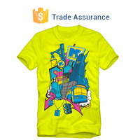 High Quality Custom Full Hand T Shirt Printing