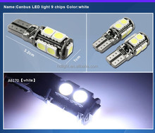 White 9-SMD LED Vehicle Interior Map Dome Light