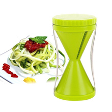 Amazon High quality Vegetable Spiralizer Kitchen Tool Spiral Cutter Veggie Slicer Pasta Maker/vegetable Spiral Slicer