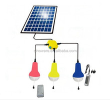Anywhere Lighting Sinoware 5W led mini solar light kits with 3 pcs lamp