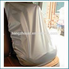 Plastic auto seat cover fabric/sponge laminated seat cover fabric made in China with free samples