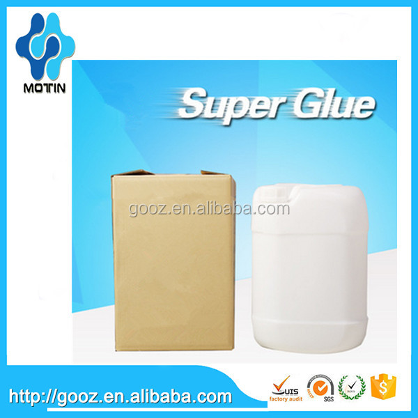 25kgs Or 20kgs Bulk Cyanoacrylate Adhesive Super Glue Barrel For Construction Usage Or Raw Material