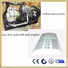 Independent diesel sub engine bus air conditioner with power pack for tata, ashok leyland