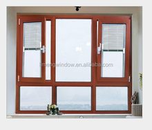 Fashionable And Cheap Price Aluminum Double Glass Casement Window