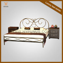 Wholesale Wrought Iron Metal Bed Frame Only