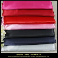 to imported china cheap 100% polyester satin fabric at price