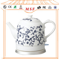 Cordless Ceramic Electric Tea Kettle With
