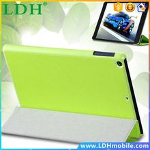 Three Fold Stand Support Leather Flip Case For iPad mini 1 2 3 Retina Protective Shell Tablets Accessories Full Protective Cover