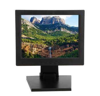 Wall Mount 12 inch TFT LCD Touch Screen Monitor with Multi Points Resistive Touch