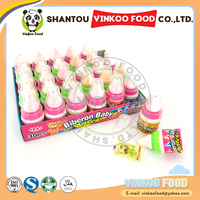 wholesale nipple sweet fruity hard candy toy