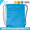 promotional sports shoe dust bag/polyester waterproof backpack drawstring bag