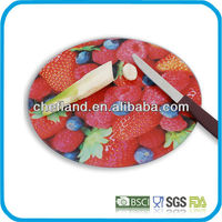 Eco-Friendly Feature and Glass Material decorative glass cutting boards