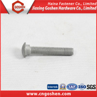 m20 galvanized g8.8 Carbon Steel mushroom head bolt