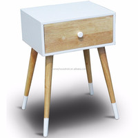 Wooden Effect One Drawer Night Stand/Bedside Table/End Table