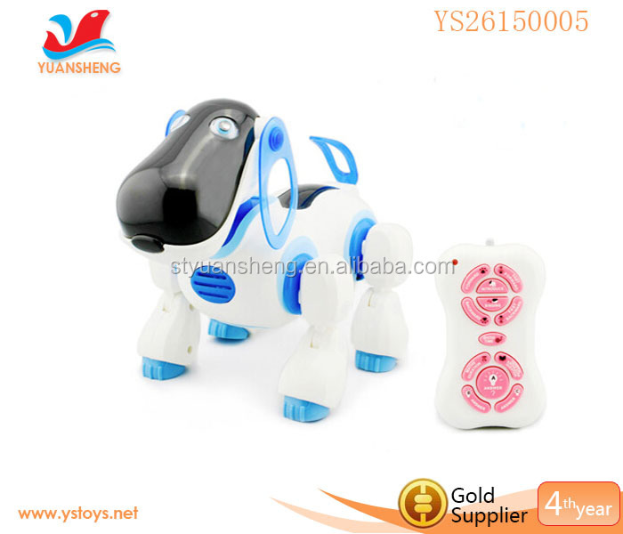 Hot selling remote control animal Intellgent robot toy dog