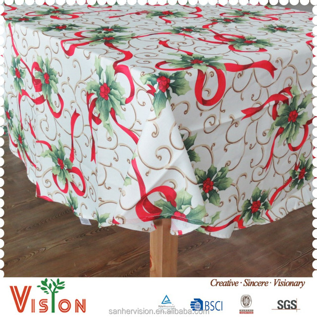 Wholesale Buy Lace Christmas Tablecloth For Party