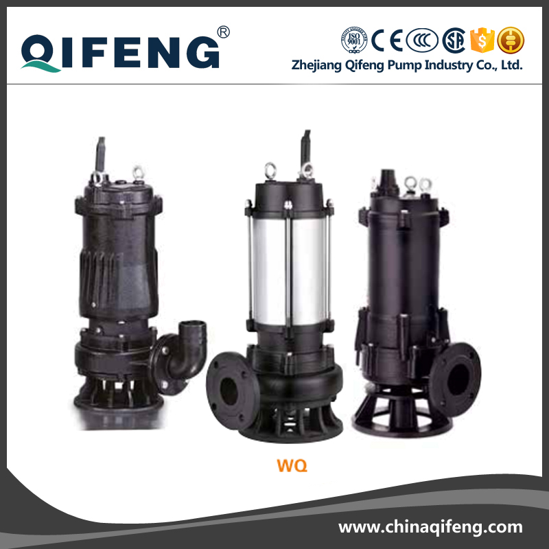 WQ 2 inches 3 inche 4 inche electric centrifugal submersible pump