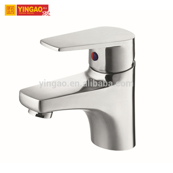 Single handle waterfall wash basin mixer bathroom basin faucet