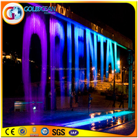 Hot sale digital water curtain for gardens