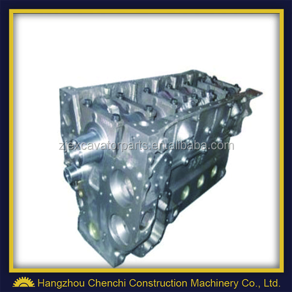 Excavator engine part 6D102 cylinder block assy in stock