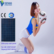 60cells A Grade Competitive price and high quality 250w poly Solar Panel broken solar cells