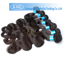 Cheap human fix hair brazilian virgin hair full cuticle