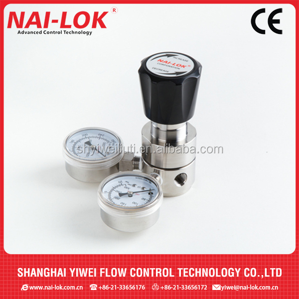 Pressure reducing valve gas pressure regulator