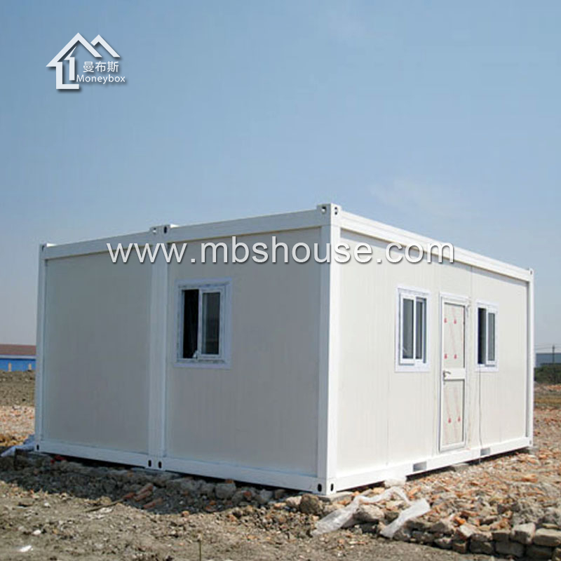 low cost and easy installation flat pack shipping container house