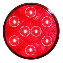 4 Inch New Designed Round Red LED Truck Trailer Signal Lights