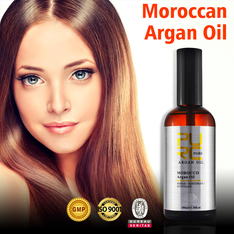 Argan oil skin care product under eyes skin make face and body more smoothing