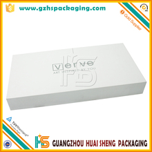 Hot Sale Cheep High Quality Cardboard White Plain Rectangle Packaging Gift Boxes