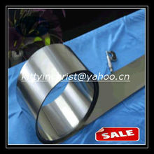 metallic pure 0.005mm titanium foil
