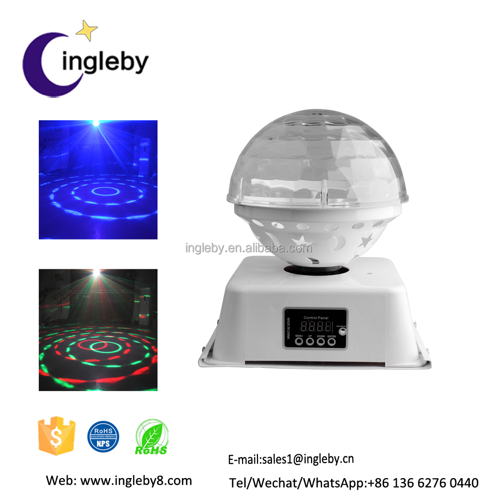 Alibaba trade assuarance 2016 rgbyw colorful water wave effect dj stage korea led light