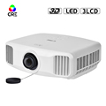 2017 Christmas Promotion 3LCD Max 4096*2160 4K Home TV Projector RAM 3GB / ROM 16GB Active Shutter 3D Projector