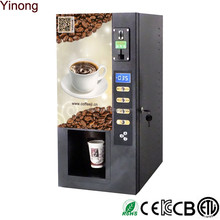 2016 hot selling 3 selection Commercial Instant Coffee Vending Machine for Sale by CE approved