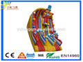 Rainbow design clown slides PVC inflatable for sale, Guangzhou manufacturer for sale